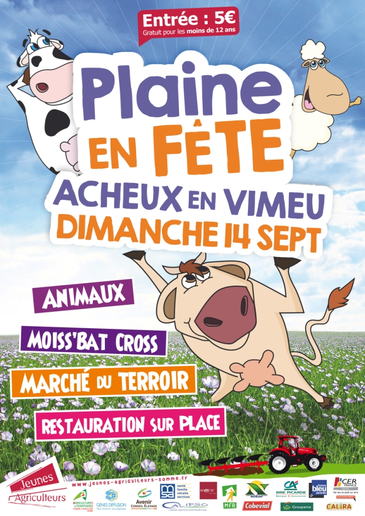 Affiche Animation Amuséon en déambulation à